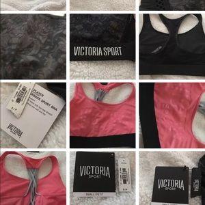 72f5eea9eb469 Victoria s Secret Intimates   Sleepwear - 2 Victoria Secret Sports Bras  Small Petite